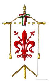 gonfalone - storia società italiana dell'iris