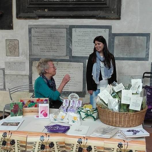 volontari giardino iris
