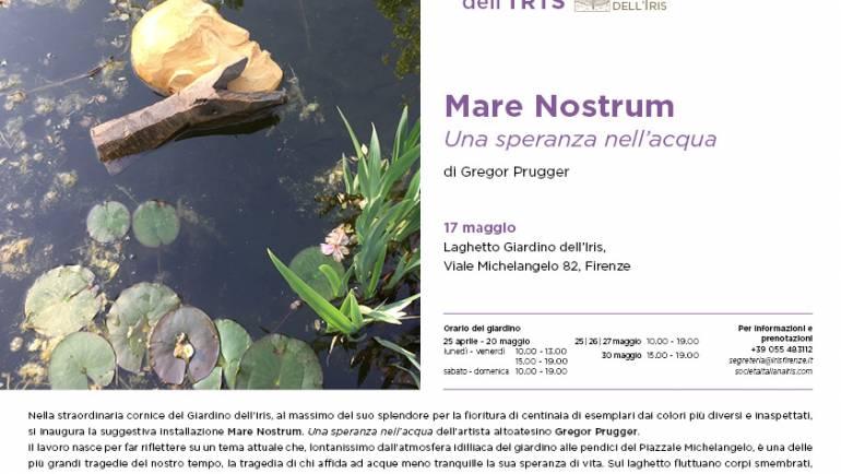 """Dal 17 maggio 2018 mostra """"MARE NOSTRUM Una speranza nell'acqua"""" di Gregor Prugger"""