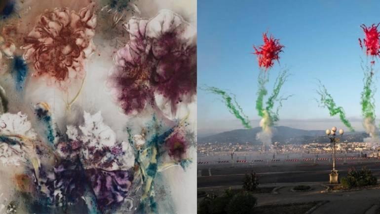 I fiori del Giardino dell'Iris ispirano l'artista cinese Cai Guo-Qiang
