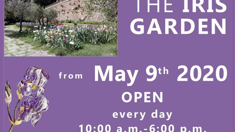 THE IRIS GARDEN OPENS