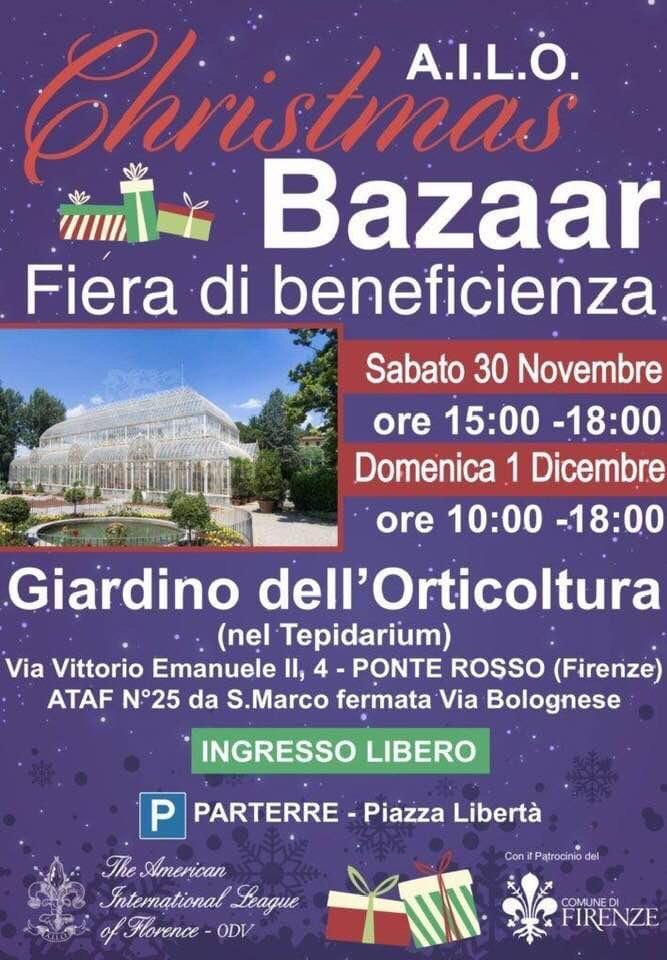 Christmas Bazaar – A.I.L.O.