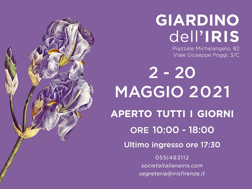 APERTURA 2021 del GIARDINO DELL'IRIS
