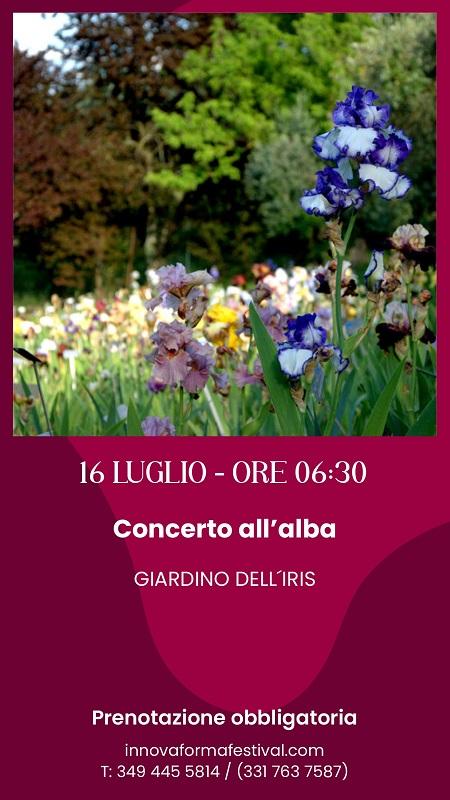 """Al Giardino """"Concerto all'alba"""" di InNovaForma Festival"""